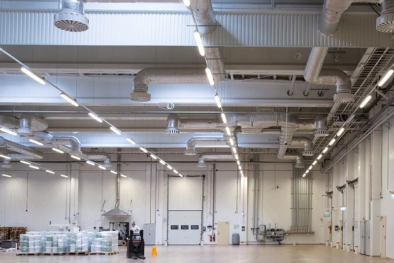 Lightingpl Oświetlenie Led W Fabryce Czekolady Wawel