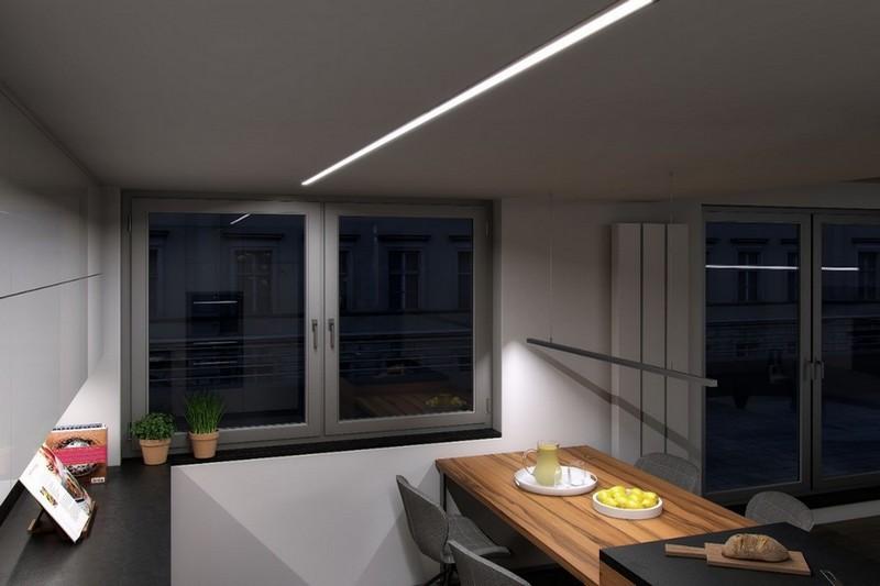 Lightingpl Nowoczesne Oświetlenie Kuchni Aluminiowe Profile Led