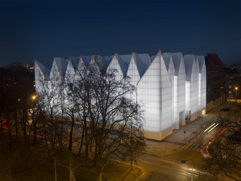 Lightingpl Oświetlenie Elewacji Filharmonii W Szczecinie