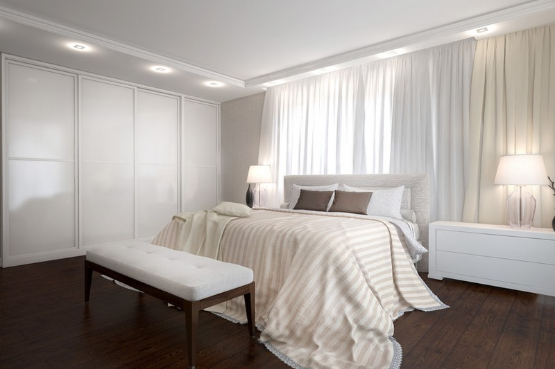 Sypialnia oswietlenie